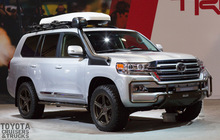 Обвес TRD Toyota Land Cruiser 200 (2015+)