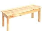 Фотография в Мебель и интерьер Мебель для дачи и сада Материал - массив сосны. Изделия выполняются в Питере 2300