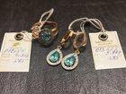 Уникальное фото Ювелирные изделия и украшения Комплект серьги и кольцо 34490151 в Пятигорске