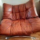 Кожанное кресло
