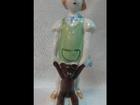 Фотография в Хобби и увлечения Антиквариат Фарфоровая статуэткаДевочка с мишкойФигурка в Пскове 1200
