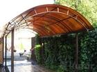 Скачать фото Мебель для дачи и сада Навесы для автомобиля в Пыталово 38239532 в Пыталово