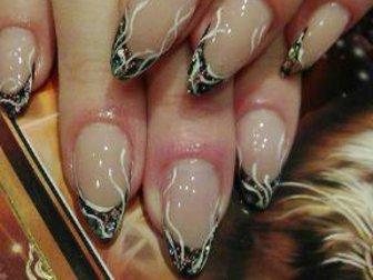 Скачать фото Косметические услуги наращивание ногтей,ресниц;прически и макияж 37638715 в Рязани