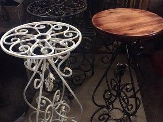 Скачать foto Мебель для дачи и сада кованная мебель и другие металлоконструкции 38221400 в Рязани