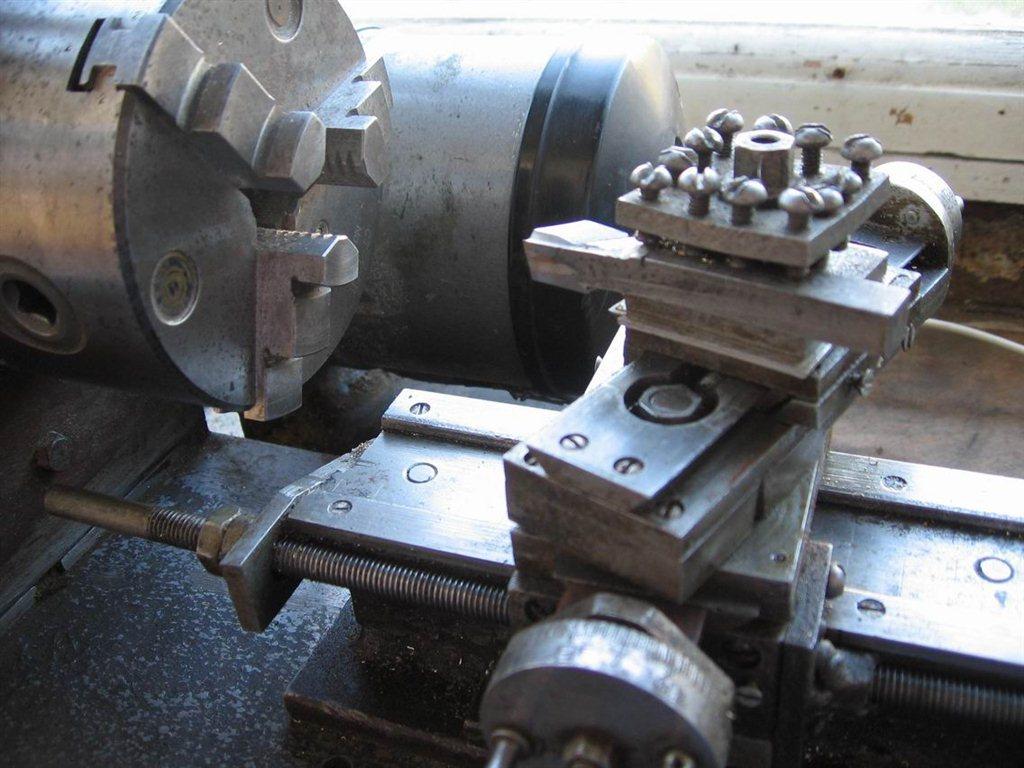 Токарный станок по металлу своими руками фото