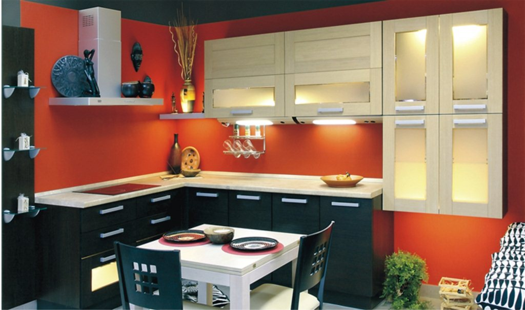 Красивая маленькая кухня дизайн фото