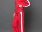 Увидеть фото Женская одежда Спортивный костюм хлопок салатный/черный 36780361 в Ростове-на-Дону