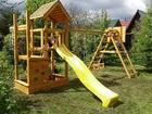 Скачать бесплатно фотографию Разное Детская площадка для дачи Магдебург 38062187 в Москве