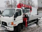 Смотреть фотографию Самопогрузчик (кран-манипулятор) Бортовой Hyundai HD 78 С КМУ UNIC 3т 38907502 в Ростове-на-Дону