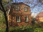 Продается двухэтажный кирпичный дом в СНТ Садовод район Ро