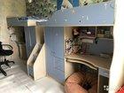 Детский двухэтажный комплекс 2 кровати