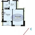 Продается однокомнатная квартира в современном жилом комплексе