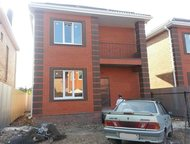 Новый кирпичный дом 120 кв, м, на 3-х сотках под чистовую отделку на Темернике Н
