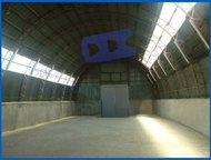 Складские помещения общей площадью 632 м2, Без комиссии Неотапливаемые помещения