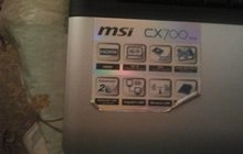 Ноутбук MSI СХ700