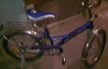 Продаю б/у велик, практически новый,2-х колесный +2 маленьких съемных колеса