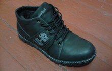 Кожаные зимние ботинки мужские от производителя