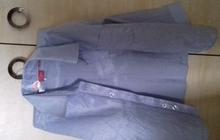 Голубая рубашка (3-4 года)