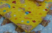 Одеяла детские байковые, синтеповые, полушерстяные и др.