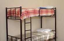 Двухъярусные кровати, односпальные на металлокаркасе