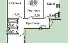 3-комнатная квартира от собственника, по цене ниже, чем прод