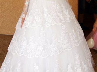 Скачать foto Женская одежда Продаю по символической цене идеальное свадебное платье 33658885 в Зернограде