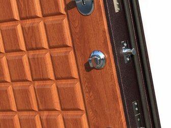 Смотреть foto Двери, окна, балконы Входная дверь Йошкар 9 см Троя Бордо Золотистый дуб БЕСПЛАТНАЯ установка 34458665 в Ростове-на-Дону