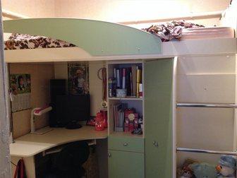 Смотреть фото  детская кровать чердак 34950099 в Ростове-на-Дону