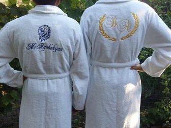 Скачать foto  Именные махровые халаты 35021513 в Ростове-на-Дону