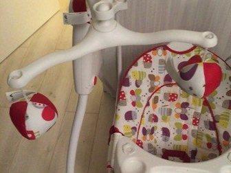 Смотреть foto  Качели Грако Ловин Хаг- для детей с рождения состояние новое! 35081982 в Ростове-на-Дону