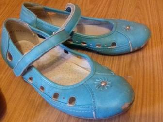Просмотреть фотографию Детская обувь Продаю балетки голубые (30 размер) 35893232 в Ростове-на-Дону