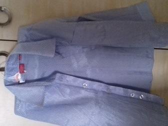 Увидеть foto  Голубая рубашка (3-4 года) 35902587 в Ростове-на-Дону