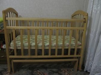 Увидеть foto Детские коляски Срочно продам кроватку маятник 38397464 в Ростове-на-Дону