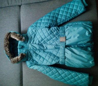 Фото в Для детей Детская одежда Новая зимняя куртка с биркой на девочку рост в Ростове-на-Дону 1300