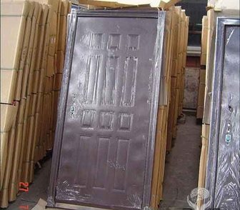 Фотография в Строительство и ремонт Строительные материалы Двери металлические   Отделка – молотковая в Ростове 0