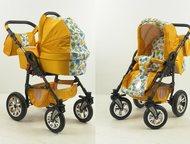 коляска 2 в 1 Tako Jumper X Butterfly В отличном состоянии после одного ребёнка.