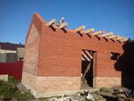 Бригада каменщиков ищет работу Все виды строительных работ кирпичной кладки, вкл
