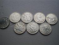 Продам монеты 2 рубля 2000 города герои 7 шт. продам монеты 2 рубля 2000 Города
