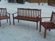 Комплект для Вашего отдыха Комплект мебели для дома и сада изготовлен из массива