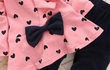 Продам: Комплект для девочки розовый с сердечками