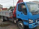 Смотреть foto Грузовые автомобили Продаю Isuzu nqr 75 бортовой с гидроманипулятором 33065142 в Санкт-Петербурге