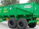Уникальное фотографию Трактор Полуприцеп самосвальный тракторный ПСТ-9 33249638 в Санкт-Петербурге