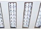 Свежее фото Светильники, люстры, лампы Светильник светодиодный ДВО-38w 595х595х45 4000K 2900Лм растровый IP20 37853600 в Санкт-Петербурге