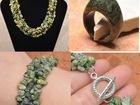 Скачать бесплатно изображение  Ожерелье, кольцо и браслет из серпентина (змеевик) 38061905 в Санкт-Петербурге