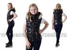 Просмотреть фото Детская одежда Жилет на пуху Silver Style, цвет черный 69299555 в Санкт-Петербурге