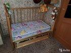 Кровать качалка с шкафам