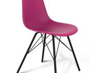 Стулья для кафе, бистро и столовых Металлические стулья оригинального дизайна с