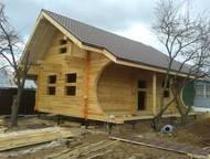 Дома из сухого профилированного бруса Мы занимаемся изготовлением домов из проф.