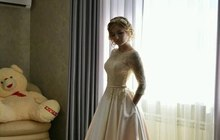 Продаю нежное свадебное платье