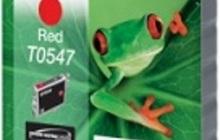 Оригинальный картридж Epson T0547 Red с красными чернилами
